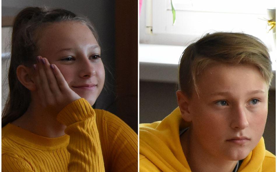 Gabrysia i Maciek finalistami przedmiotowych konkursów wojewódzkich